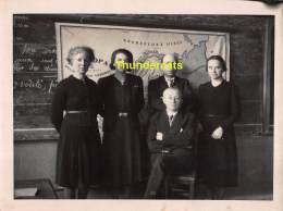 ST SINT LIEVENS LIEVIN HAUTHEM HAUTEM HOUTEM FOTO PHOTO PERSONEEL GEMEENTESCHOOL 1936 - Sint-Lievens-Houtem