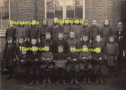 ST SINT LIEVENS LIEVIN HAUTHEM HAUTEM HOUTEM FOTO PHOTO  GEMEENTESCHOOL 1924-25 MEESTER BRACKMAN - Sint-Lievens-Houtem
