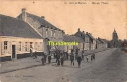 CPA ST SINT LIEVENS LIEVIN HAUTHEM HAUTEM HOUTEM GROOTE PLAATS - Sint-Lievens-Houtem