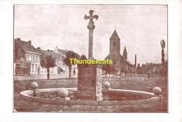 CPA ST SINT LIEVENS LIEVIN HAUTHEM HAUTEM HOUTEM  DE GESCHIEDENIS VAN HET SINT LIEVENSKRUIS - Sint-Lievens-Houtem