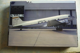 AEROFLETE  DC 3   EC ASP        BASEL-MULHOUSE AIRPORT 1973 - 1946-....: Moderne