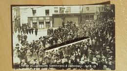 LUXEMBOURG - 1919 PHOTO CARTE - L'entrée Des Légionnaires Luxembourgeois - Luxemburg - Stad