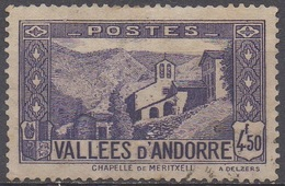 ANDORRE  FRANCAIS   N°90__OBL VOIR SCAN