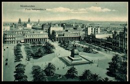 Montevideo - Place Independencia - Uruguay