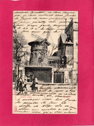75  PARIS, Moulin Rouge, Animée, 1905, (K. F.) - Otros Monumentos