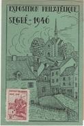 FR-L106 - FRANCE Carte Souvenir De L'exposition Philatélique De Segré 1946 - France