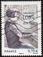Oblitération Moderne Sur Timbre De France N° 5032 - Pianiste - Marguerite LONG - France