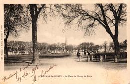 FONTENAY LE COMTE -85- LA PLACE DU CHAMP DE FOIRE - Fontenay Le Comte