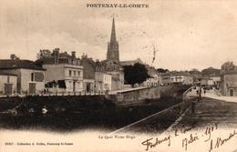 FONTENAY LE COMTE -85- LE QUAI VICTOR HUGO - Fontenay Le Comte