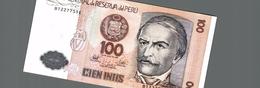 BILLET DEL PERU 100 - Perù