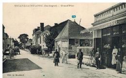 Tocane Saint Apre: Grande Rue, Commerce, Belle Animation - Autres Communes