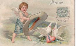 ANGES/ANGE/Amitié/ Gaufrée/ Réf:C5027 - Anges