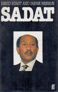 SADAT Of Egypt By Hirst, David; Beeson (ISBN 9780571116904) - History