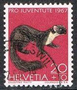 Switzerland SG J218 1967 Pro Juventute 20c+10c Good/fine Used [17/15781/7D] - Pro Juventute
