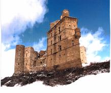 Portes Château De Portes En Hiver - France