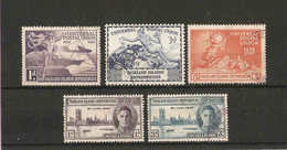 FALKLAND ISLANDS DEPENDENCIES 1946 VICTORY SET And 1949 UPU SET TO 6d FINE USED Cat £10 - Falkland Islands