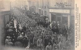 ¤¤   -   561  -  CHALONS-sur-MARNE   -   Prisonniers Allemands Faits Aux Derniers Combats De Ville-sur-Tourbe   -   ¤¤ - Châlons-sur-Marne
