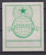 Ex-Libris Esperanto - Green Star - Globe - From The 1930s - Ex-Libris