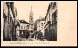 95 - ARGENTEUIL -- Rue De La Chaussée - Argenteuil