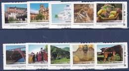 Collector 2009 - L'Auvergne - Série De 10 Timbres - Superbe - Collectors