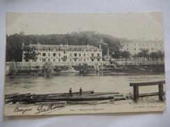 CPA - 40 - Dax (Landes) - Hôtels Des Baignots - Rives De L'Adour - Librairie Médan, Vve Séguin - ANIMEE - R372 - Dax