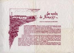 88 HISTOIRE DU MOULIN DE NOMEXY SUR FEUILLE DE PAPIER TYPE PAPIER-SOIE - Old Paper