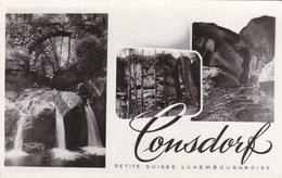 CONSDORF - GRAND DUCHÉ DE LUXEMBOURG - CPSM BEL AFFRANCHISSEMENT POSTAL DE 1952 - Postcards