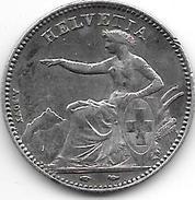 *switzerland1 Franc 1850  Km 9 Vf+ !!!! Look!!!! Catalog Val 230,00$ - Suisse