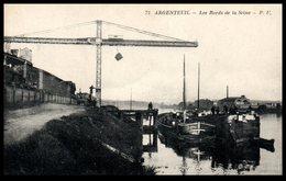 95 - ARGENTEUIL -- Les Bords De La Seine - Argenteuil