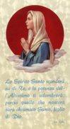 Santino LO SPIRITO SANTO SCENDERÀ SU DI TE..., SUORBONAVENTURE  (rubino 36, Lc. 1,35) - PERFETTO N47b