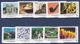 Collector 2009 - La Franche-Comté - Série De 10 Timbres - Superbe - Collectors