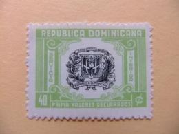 REPUBLICA DOMINICANA DOMINICAINE 1956 - 58 ESCUDO Yvert Servicio 15 ** MNH - Dominican Republic