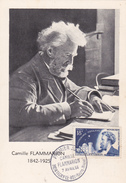 Carte-Maximum FRANCE N° Yvert 1057 (FLAMMARION) Obl Sp 1er Jour Montigny (Ed FDC) - 1950-59