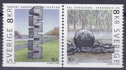 2002, Schweden, 2291/92, Norden: Kunst.  MNH ** - Nuovi