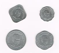 )  MYANMAR  5 -10 -25 - 50 PYAS  1966 - Myanmar