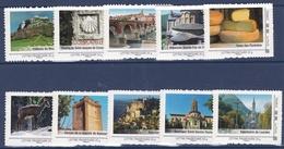 Collector 2009 - Midi-Pyrénées - Série De 10 Timbres - Superbe - Collectors