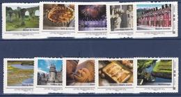 Collector 2009 - La Picardie - Série De 10 Timbres - Superbe - Collectors