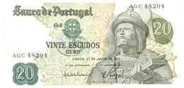 Re B 7)  Portugal 20 Escudos 1971 - Portugal