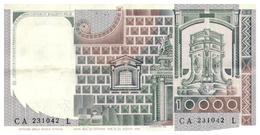 Re B 7) Banca D'Italia > 10000 Lire 1976 - [ 2] 1946-… : République