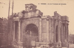 ALGERIE---TEBESSA---arc De Triomphe---voir 2 Scans - Tebessa