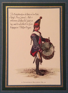 GERMANIA UNIFORMI MILITARI ED ARMI   ADOLPH MENZEL SOLDATENBILDER   STAMPA 16x23 - Manifesti