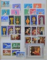** 1970-1976 Gyűjtemény 10 Lapos Abria Rugós Berakóban