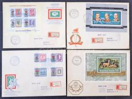 1963-1983 Tartalmas FDC Gyűjtemény 2 Dobozban / Nice FDC Collection In 2 Boxes