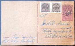 Kb. 95-100 Db LevelezÅ'lap Közte Sok Az 1940-es évekbÅ'l 50 Lapos Levél Berakóban