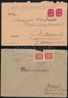 1945-1946 7 Db Inflációs Küldemény