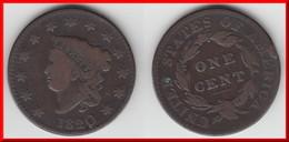 **** USA - ETATS-UNIS - 1 CENT 1820 - ONE CENT 1820 LIBERTY HEAD **** EN ACHAT IMMEDIAT !!! - 1816-1839: Coronet Head