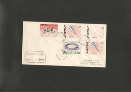 Olympics 1968 Cover Of Liberia Registered