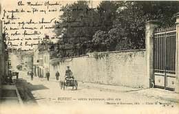 16 - 270417 - RUFFEC - Route Nationale, Côté Sud - Auto Voiture à Pédale Jouet - Ruffec