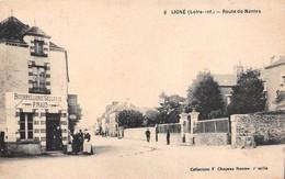 """¤¤  -   6   -  LIGNE   -  Route De Nantes -  Bourrellerie - Sellerie """" P. NAUD """"    -  ¤¤ - Ligné"""