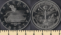 Marshall Islands 5 Dollars 1995 - Islas Marshall